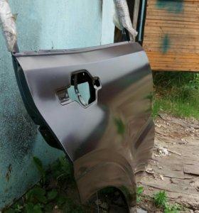 Дверь задняя правая на Паджеро 3