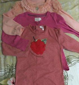 Вещи на девочку, размер 98-110