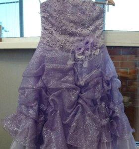 Платье праздничное, 6-8 лет
