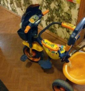 Детский трёхколесный велосипед