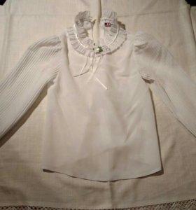 4. Блузка белая маленькая леди!!!