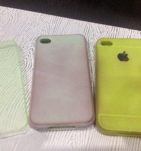 Чехлы iPhone 4S