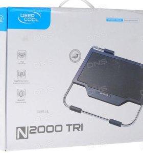 Теплоотводящая подставка для ноутбука deepcool