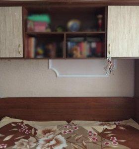 Стенка с кроватью и шкафом