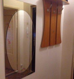 Зеркало+вешалка в прихожую