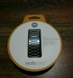 Ремешок на смарт часы Moto 360 v2 22mm