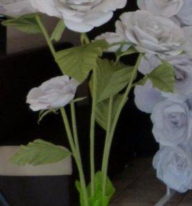 Гигантские цветы для  праздников  и фотосессий