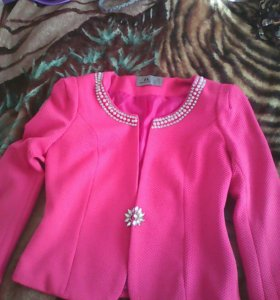 Приталенный пиджак 44-46