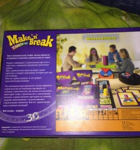 Настольная игра Make'n'brake вечеринка