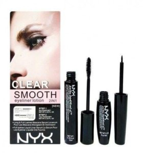 Тушь+Подводка Nyx Clear Smooth Eyeliner Lotion 2В1