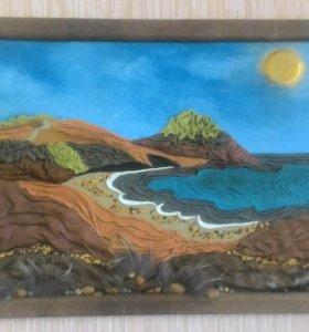 Картина Крымский пейзаж