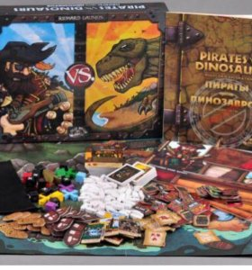 """Настольная игра """"Пираты против динозавров"""""""