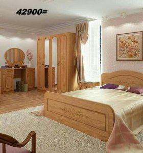 Спальня Фиеста 3-2 сура