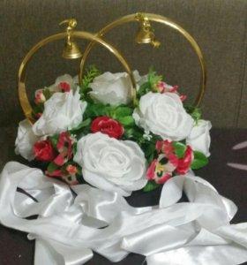 Свадебные украшения на авто (комплект)
