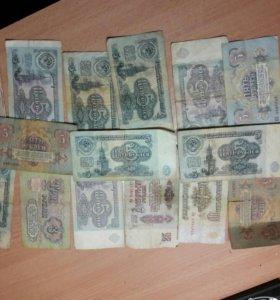 Старые монеты и купюры