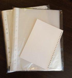 Файлы (2 пачки) + блокнот