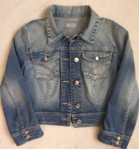 Укороченная джинсовая куртка, GAS, Италия