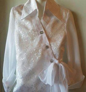 Блузки школьные