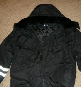 Костюм мужской зимний (куртка+комбинезон)