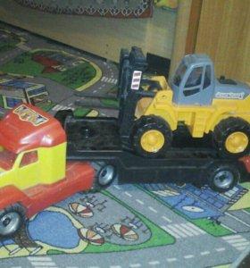 Тягач +трактор