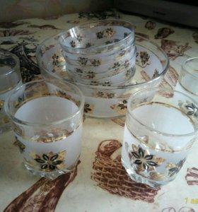 Салатники со стаканами