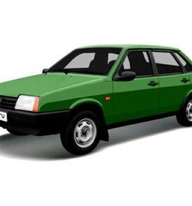 Ваз 21099 Серебристо зеленая