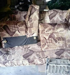 Комплект:диван и два кресла