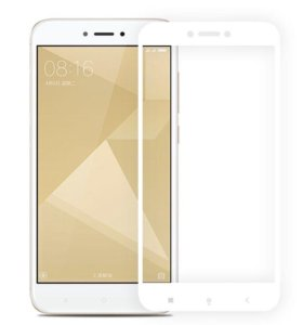 🔥 Защитное стекло 3D Edge на Xiaomi Redmi 4X, бел