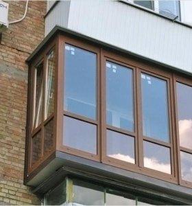 Окна (пвх) пластиковые, Обшивка балконов.