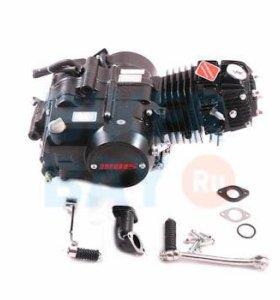 Двигатель в сборе 4Т 154FMI (CUB) 123,6см3 (МКПП) (N-1-2-3-4) (без э/стартера) TTR125