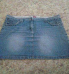 Юбка джинсовая(р50-52)
