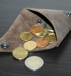 Монетница - кошелек для мелочи.