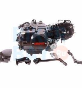 Двигатель в сборе 4Т 153FMI (CUB) 119,7см3 (МКПП) (N-1-2-3-4) (с ниж. э/стартером) TTR125R
