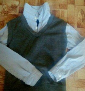 Рубашка обманка р38