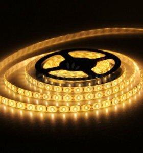 LED подсветка 5м светодиодная лента одноцветная