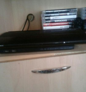 PlayStation 3 Super Slim + 2 игры