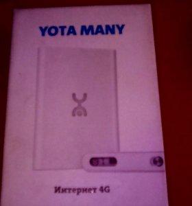 Роутер YOTA MANY 4G под SIM карту