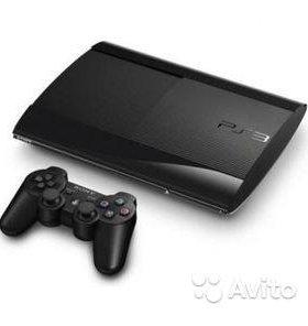 Sony PlayStation 3 Super Slim 250GB 1 геймпада и 1