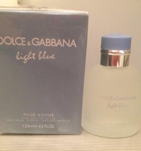 "D&G ""Light Blue Pour Homme"" 125ml"