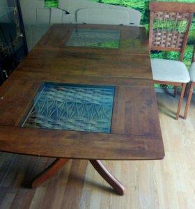 Шкафы, стол, стулья
