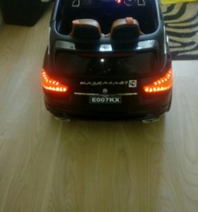 Детский электромобиль мазерати