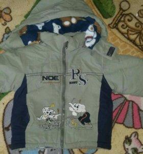 Куртка на 2 -3 года