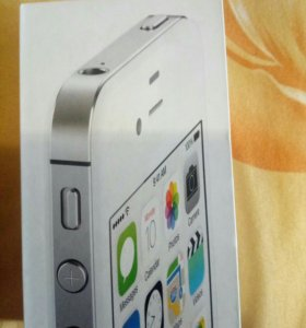 Коробка от айфона 4s, 8 гб