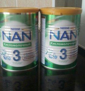 Смесь NAN 3 кисломочный
