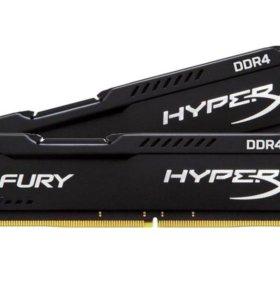 DDR4 Kingston HyperX fury Black