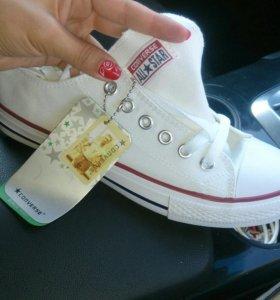 Обувь Кеды конверсы