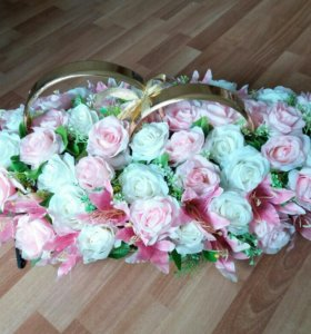 Шикарные новые украшения на свадебную машину💖💖💖