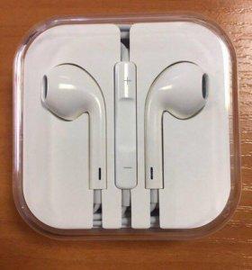 Apple EarPods. Оригинал. Новые