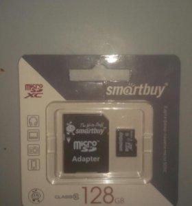 Флешка 128 Гб микро SD