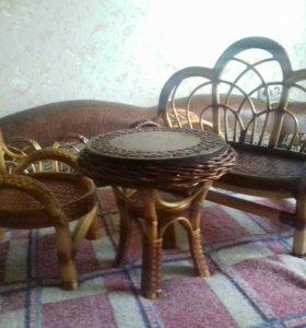 Мебель плетенная детская